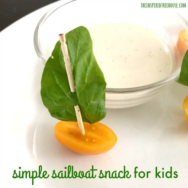 The Inspired Treehouse - These fun snacks for kids are a great way to get little ones to eat their veggies!