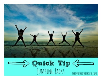 CHILD DEVELOPMENT QUICK TIP: JUMPING JACKS