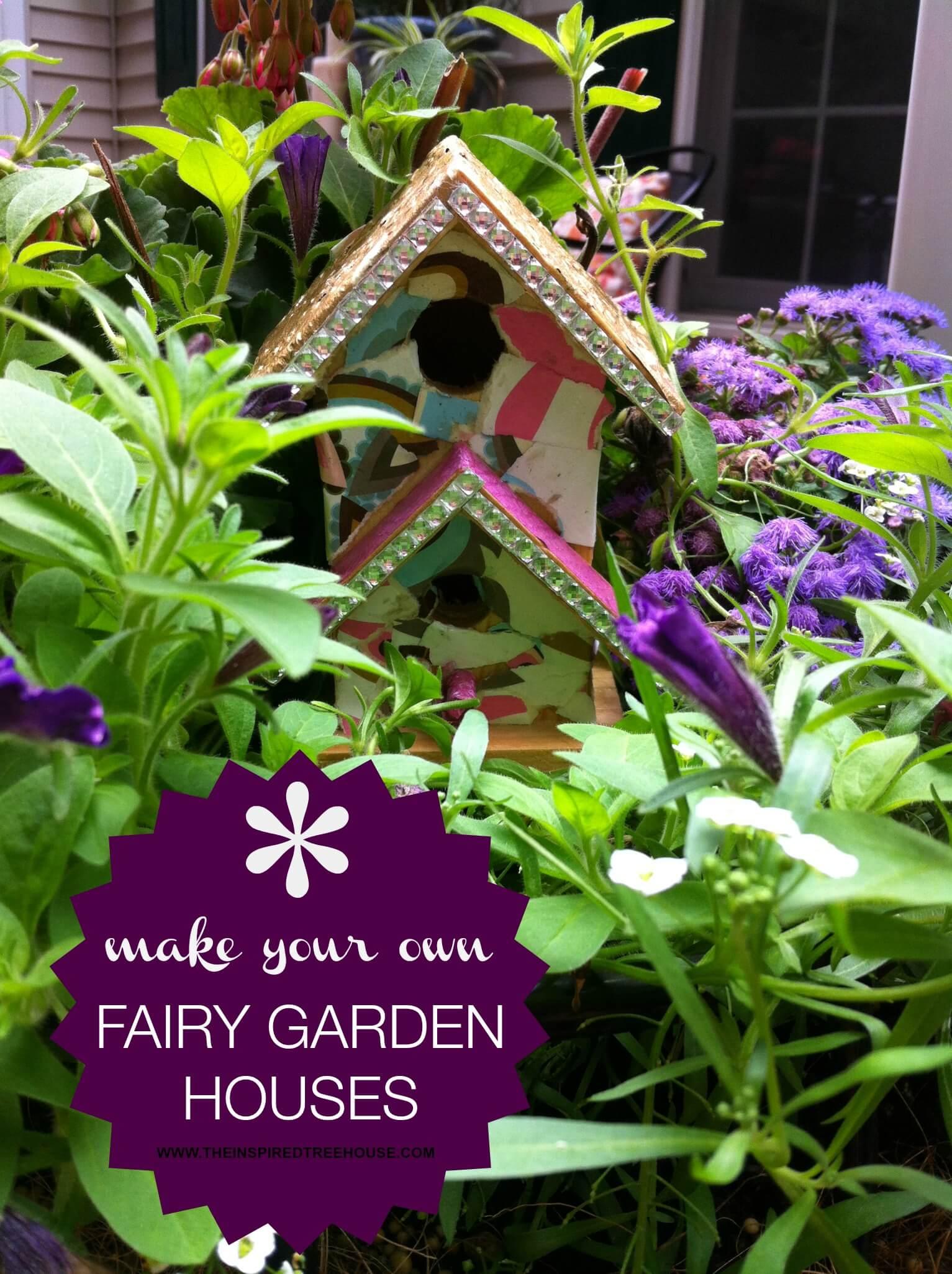 fairygardencollage2 - Fairy Garden Houses