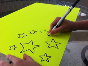 FINE MOTOR ACTIVITIES: MAKE A STAR