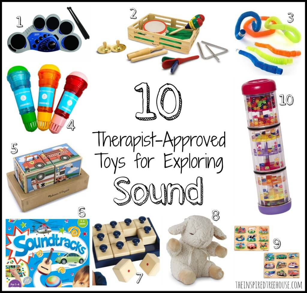 sensory toys auditory