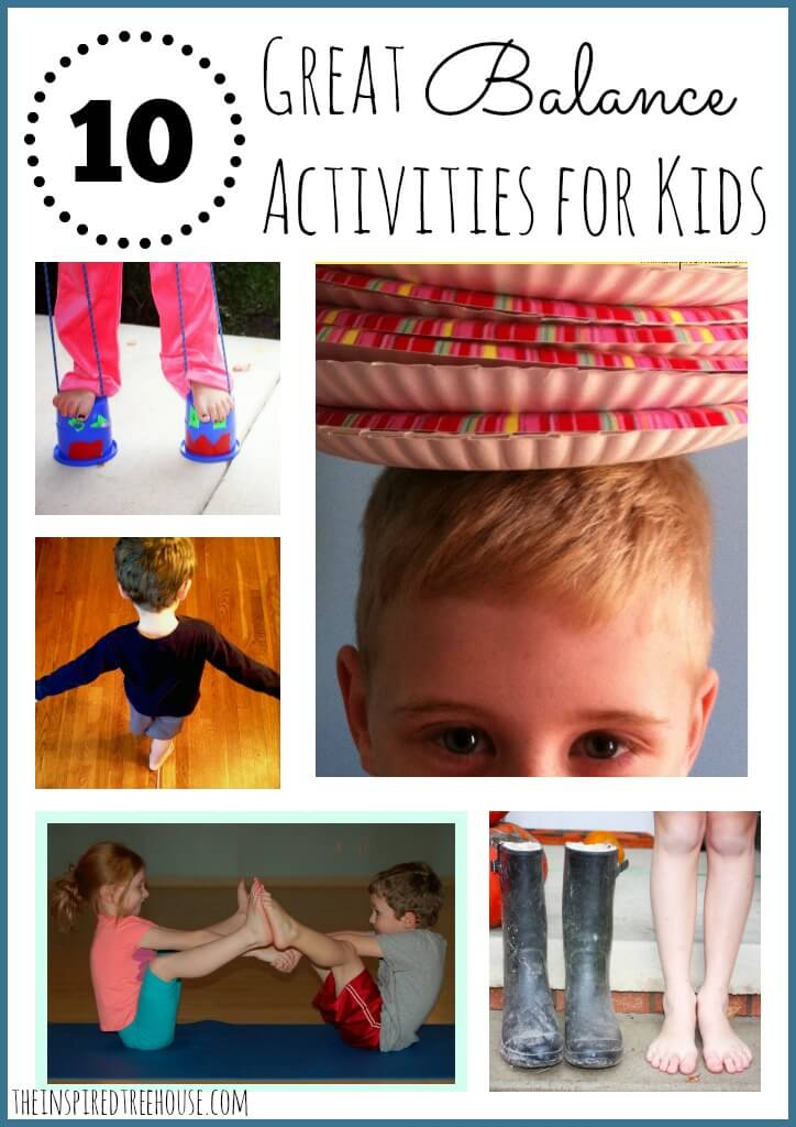 gross motor activities for kids balance