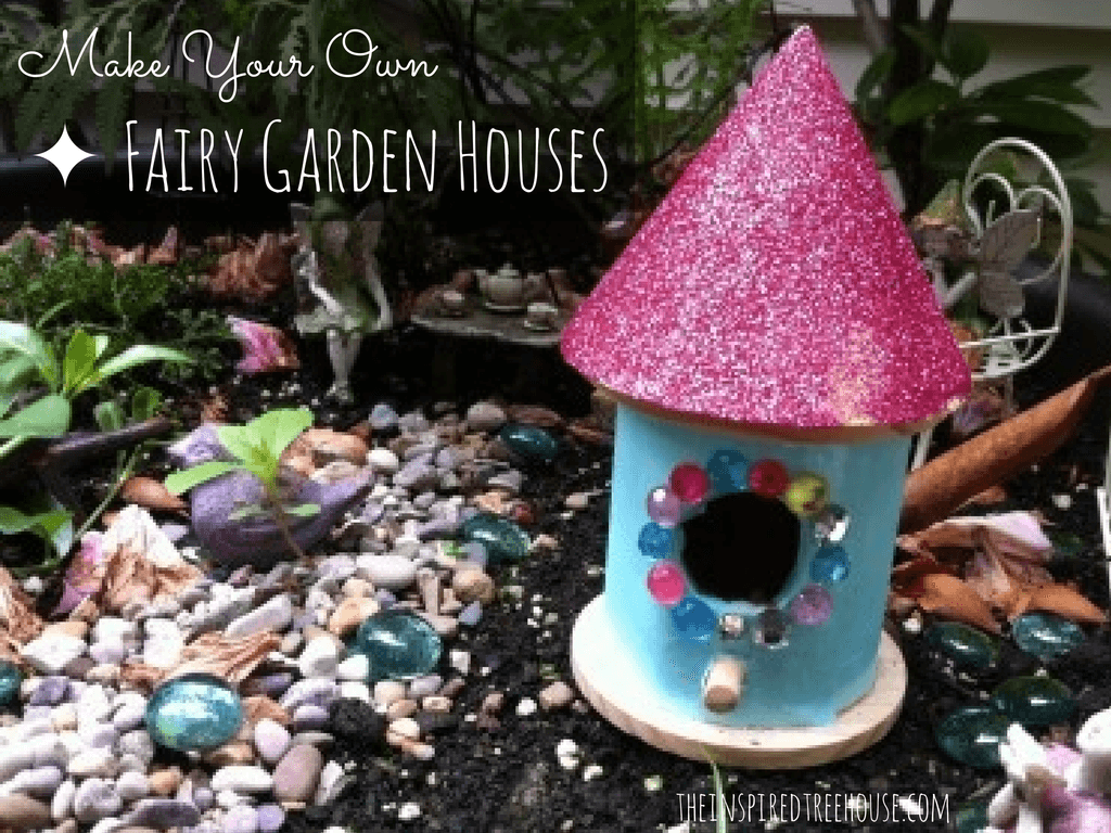 fine motor activities fairy garden houses