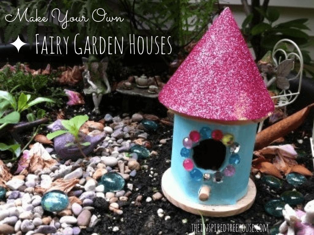 Fine Motor Activities Fairy Garden Houses