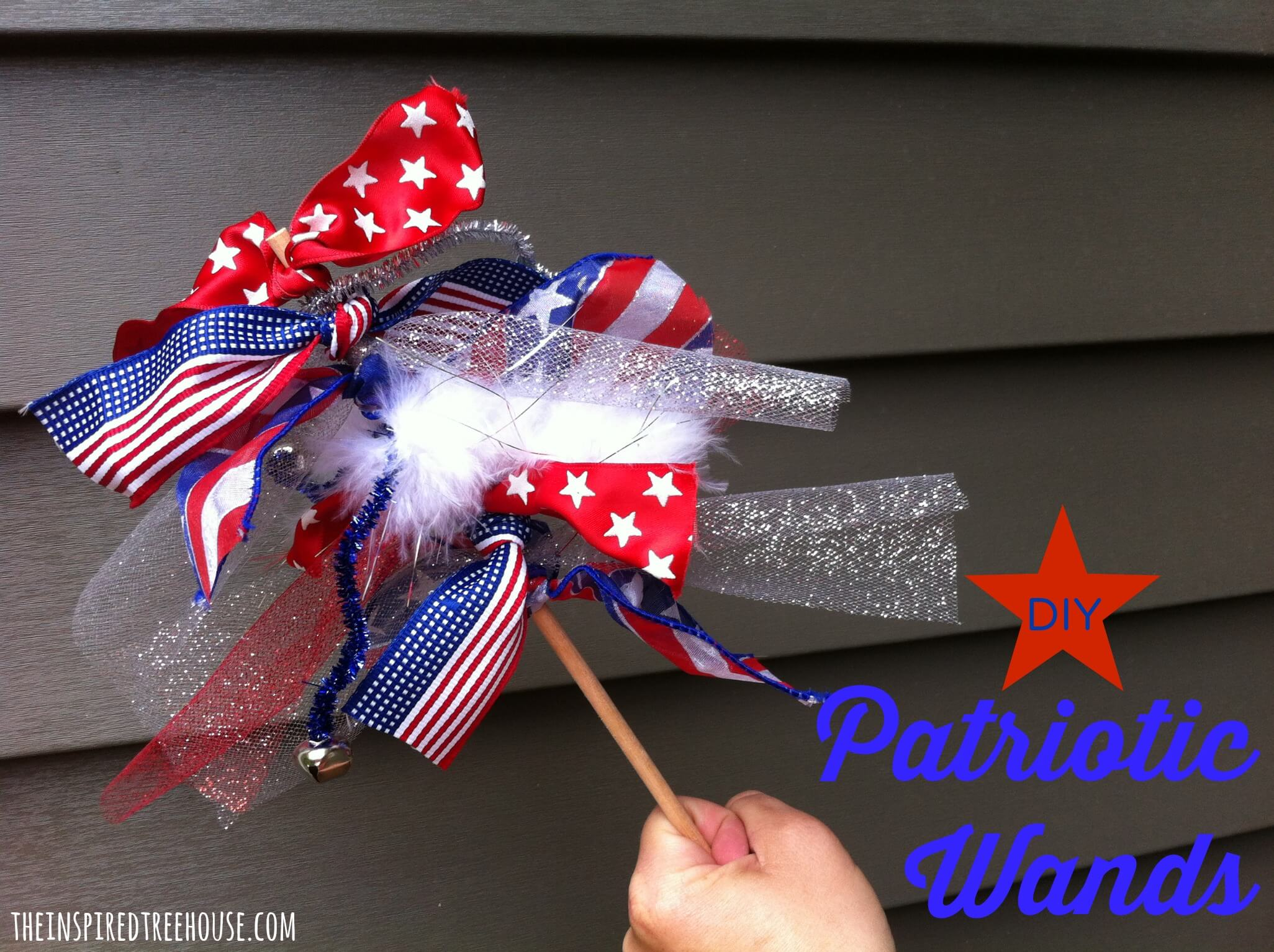 fine motor activities patriotic wands