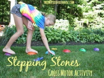 stepping stones gross motor activities
