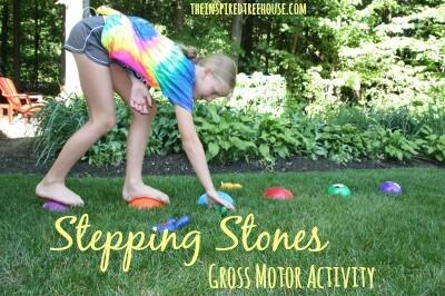 stepping stones gross motor activities