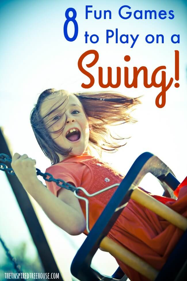 The Inspired Treehouse - Swings provide major development benefits for kids.  Check out our unique activities for sensory and motor fun and don't miss our favorite 8 swings for kids.