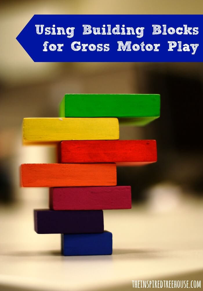 3 FUN GROSS MOTOR ACTIVITIES USING BLOCKS image