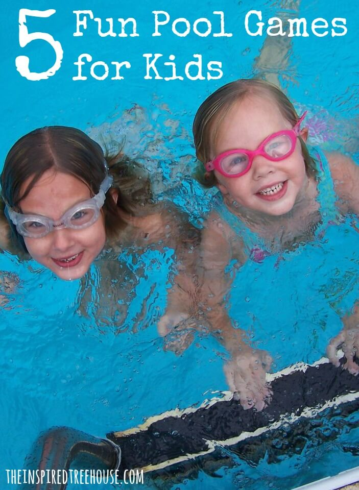 5 fun pool games for kids