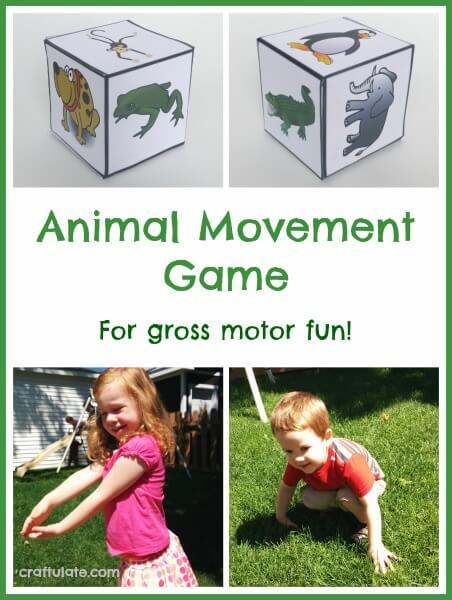 Movement Monday Gross Motor Activities July 21 The