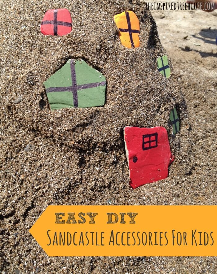 activities for kids easy diy sandcastle accessories