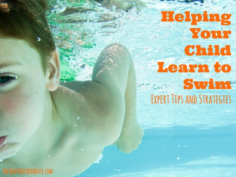 child development helping your child learn to swim