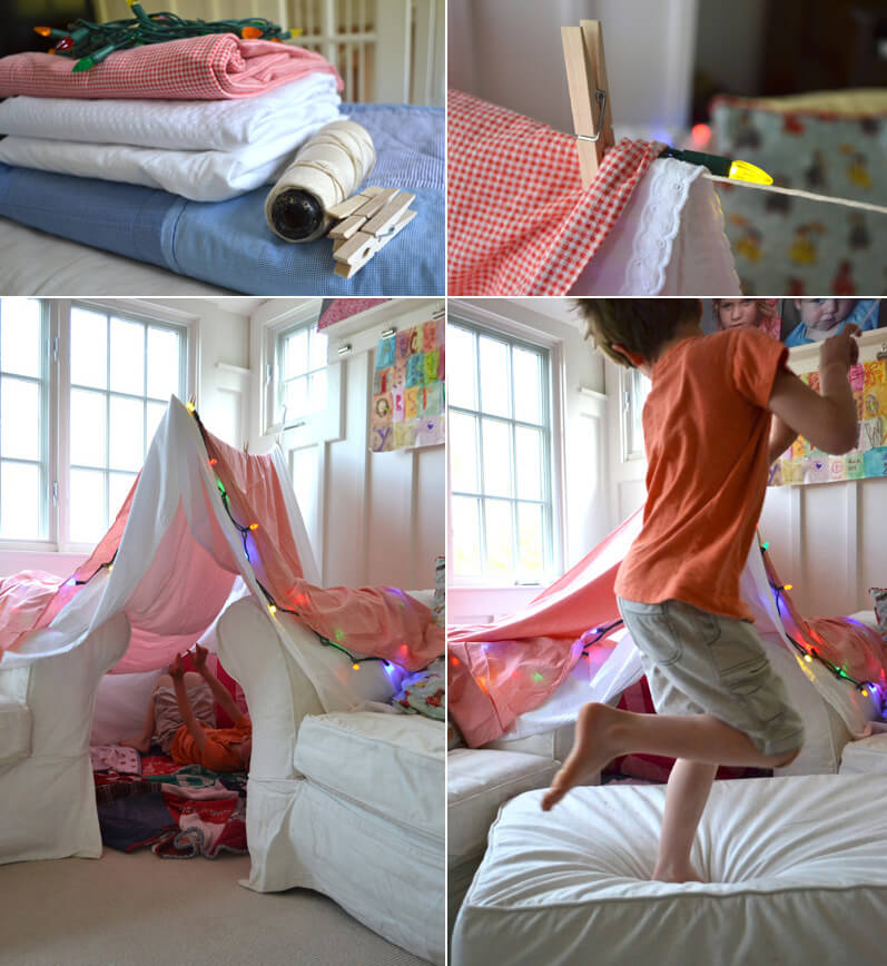 Activities for kids 8 awesome indoor fort ideas the for Fort bedroom ideas