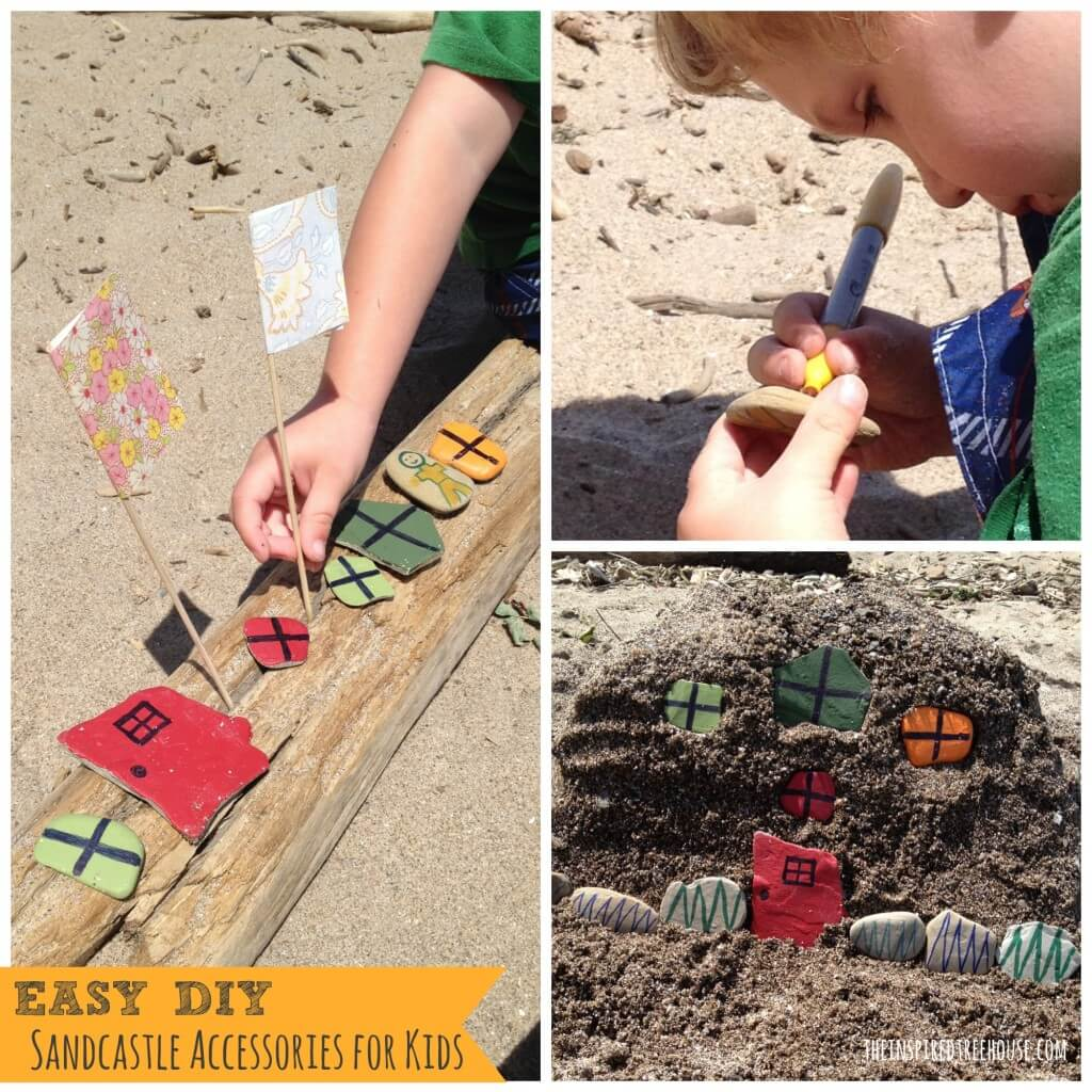 easy diy sandcastle accessories for kids3