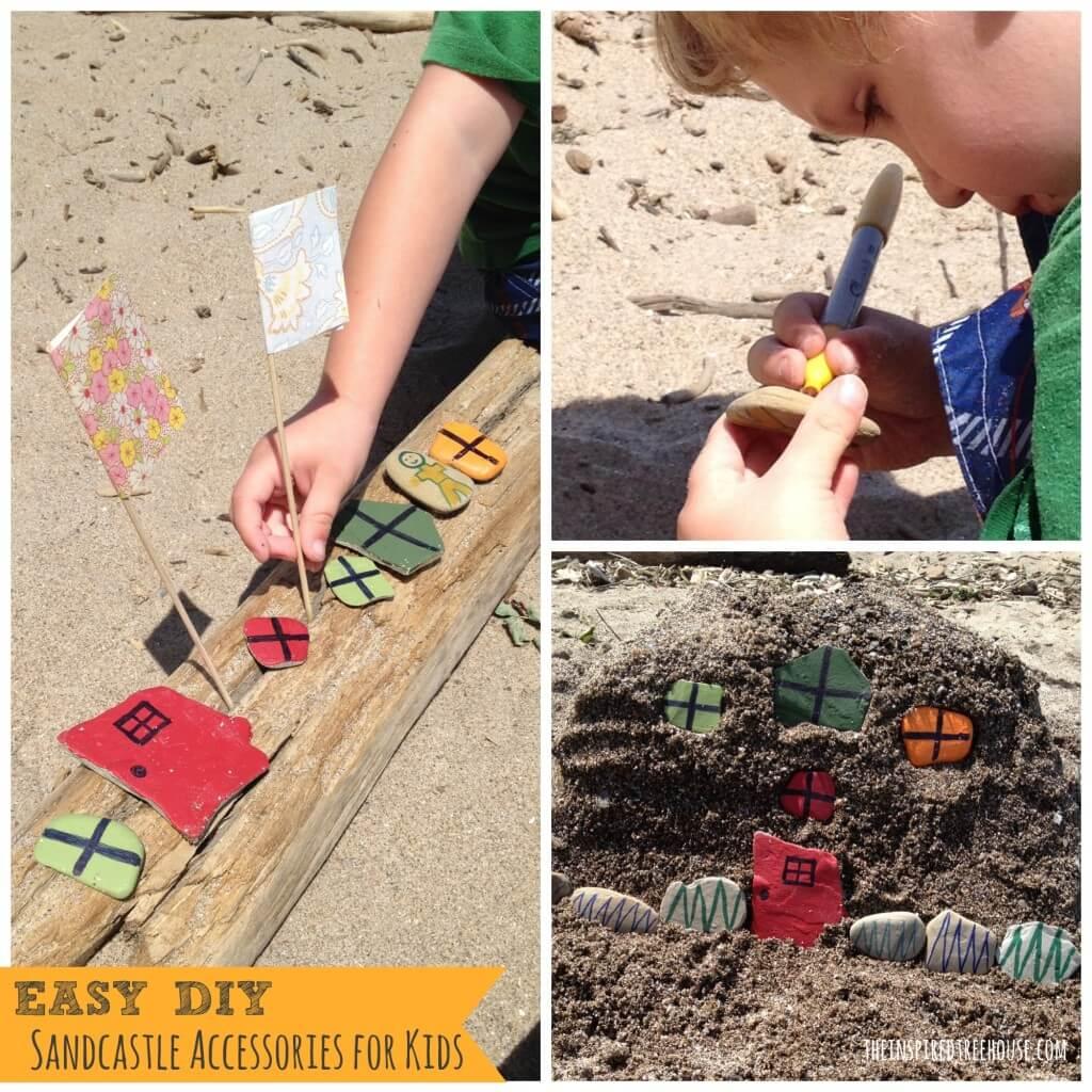 easy diy sandcastle accessories for kids3