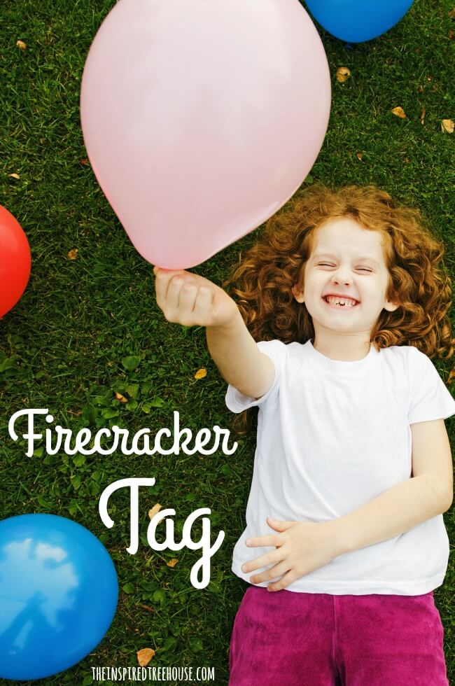 The Inspired Treehouse - This fun gross motor tag game is the perfect 4th of July activity for kids!
