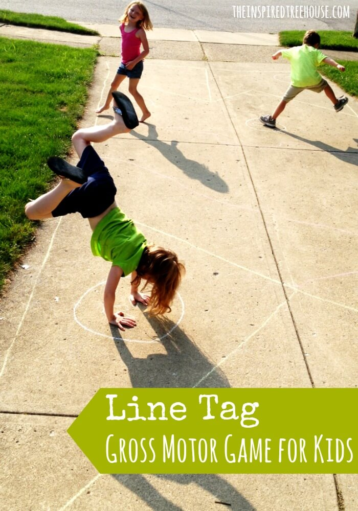 gross motor activities line tag2