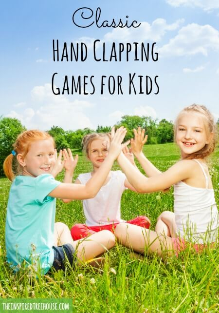 Games For Groups Hand Clapping Games For Kids The Inspired Treehouse 1 comment on i can make your hands clap. hand clapping games for kids