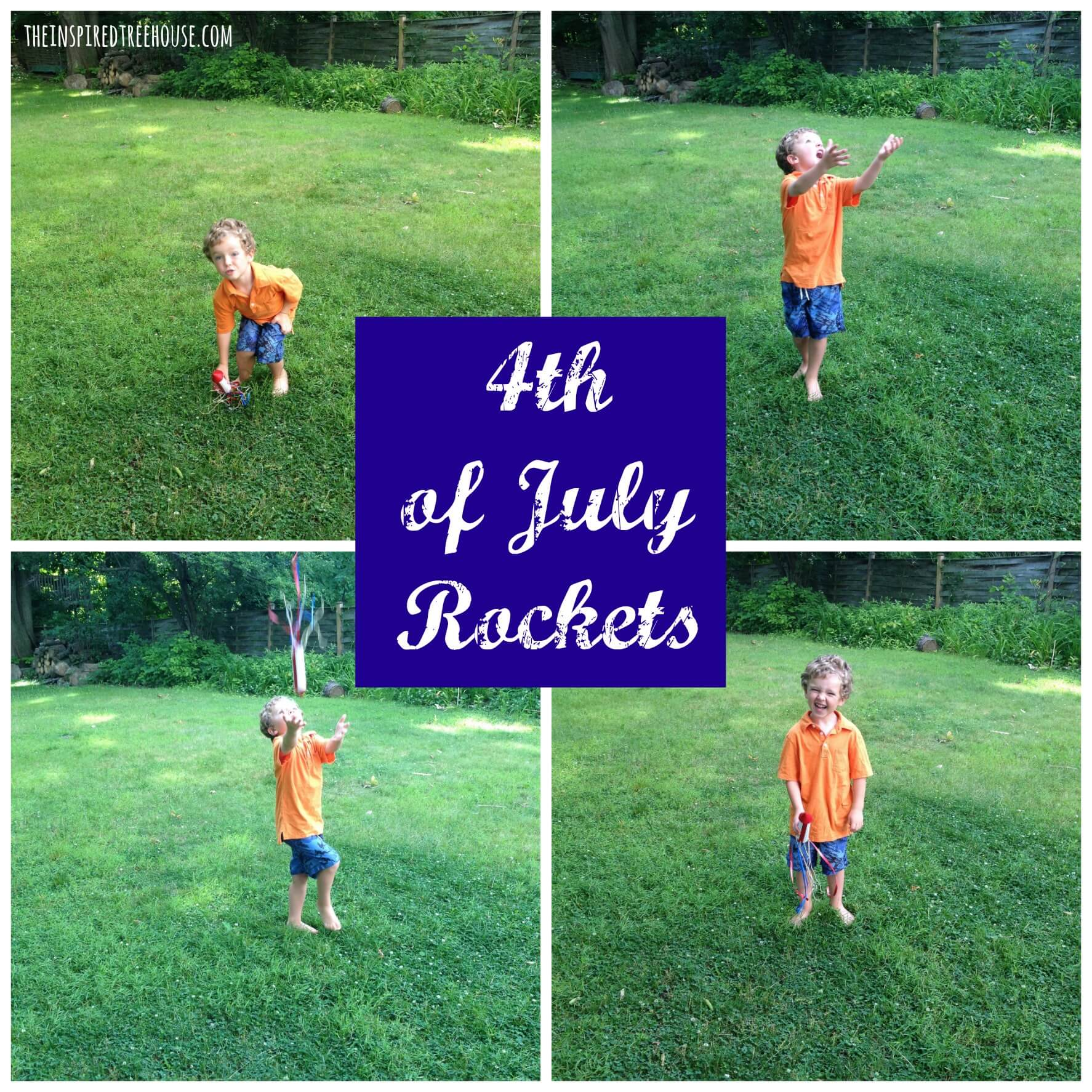 4th of july rockets fine motor activities