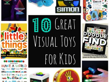SENSORY PROCESSING: 10 GREAT VISUAL TOYS FOR KIDS