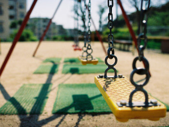 swing set gross motor activities for kids