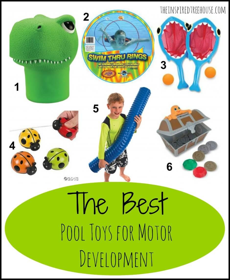 the best pool toys for motor development