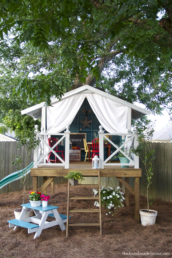 the inspired room backyard-tree-house designs