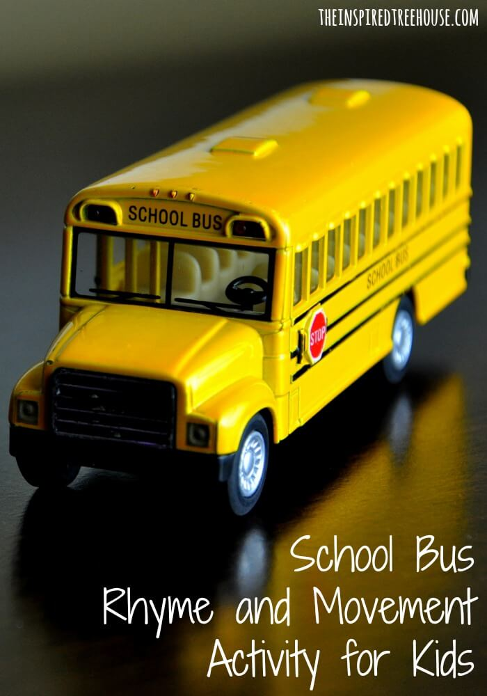 back to school activities for kids school bus rhyme image