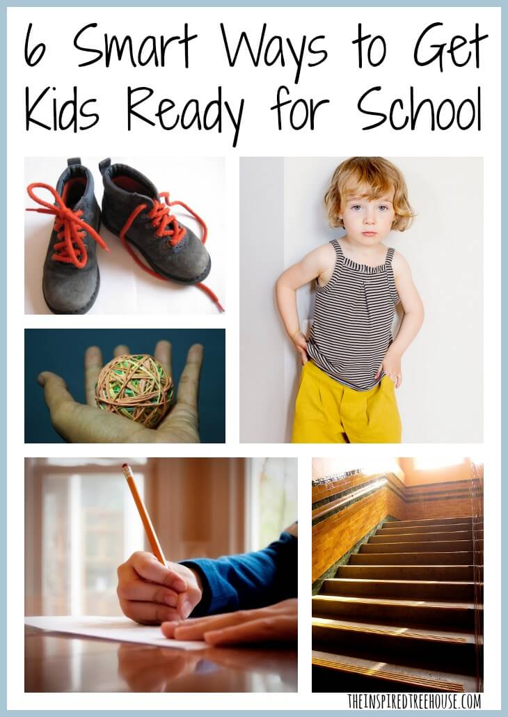child development 6 smart ways to get kids ready for school