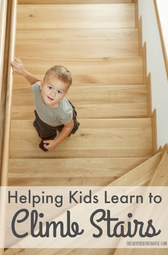 The Inspired Treehouse - Here are some ideas for practicing stair negotiation before kids head off to school!