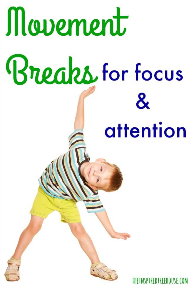 ACTIVITIES FOR KIDS: MOVEMENT BREAKS TO HELP KIDS STAY ...