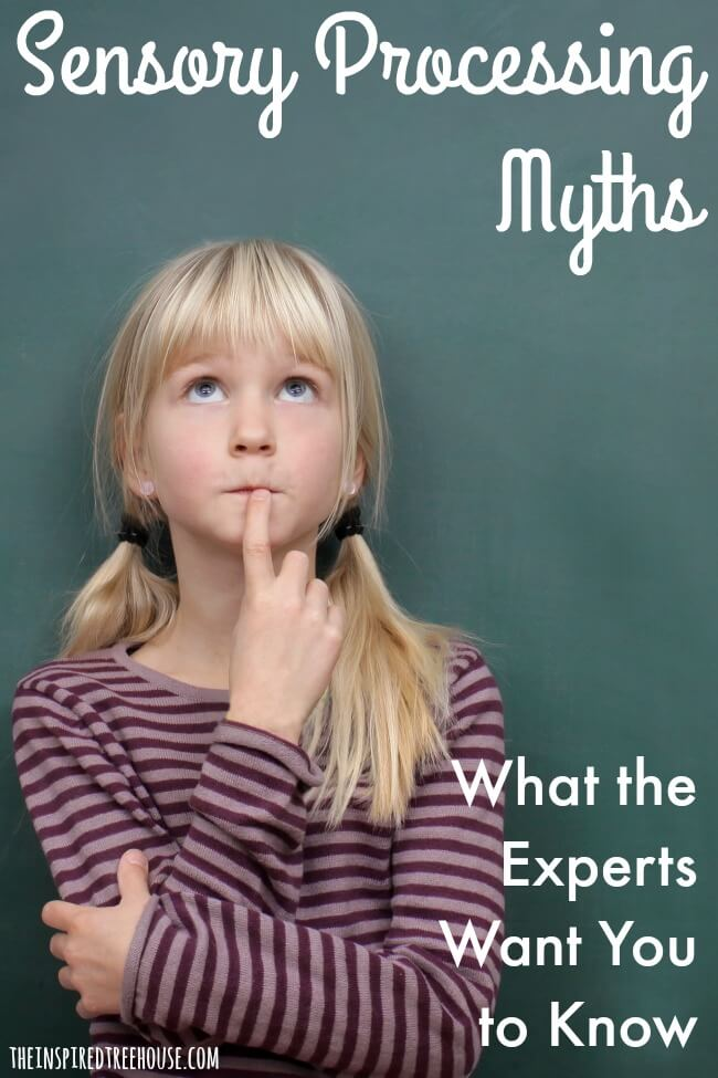sensory processing myths pin