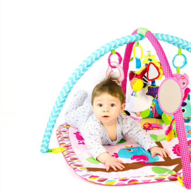 The Inspired Treehouse - Check out a few of our favorite toys for tummy time!