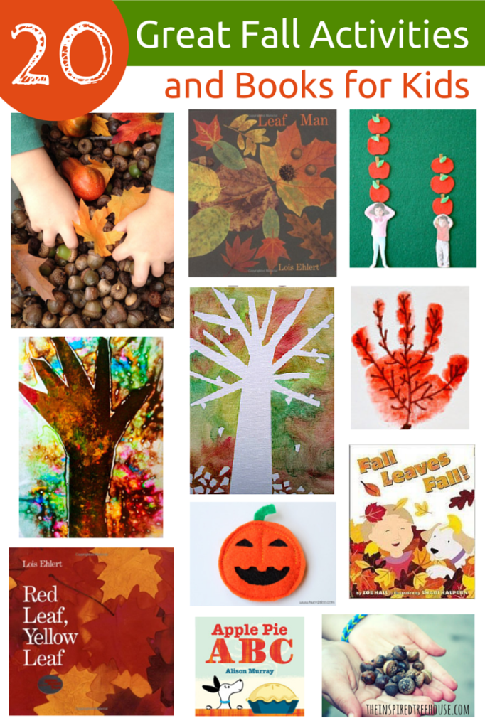 20 Great Fall Activities and Books for Kids FINAL