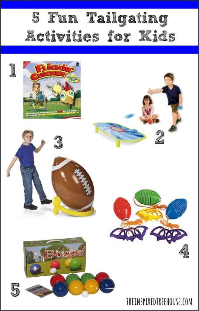 5 Fun Tailgating Activities for Kids image