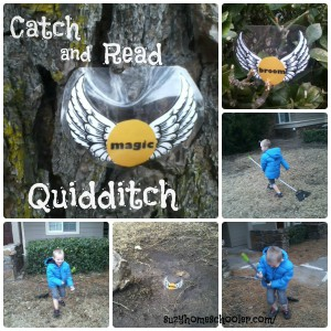 Catch-and-Read-Quidditch-gross motor activities