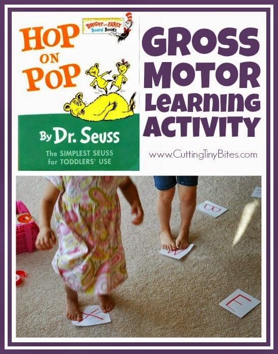 HopOnPop Gross Motor activities