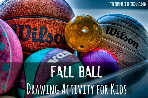 fine motor activities fall ball drawing activity for kids