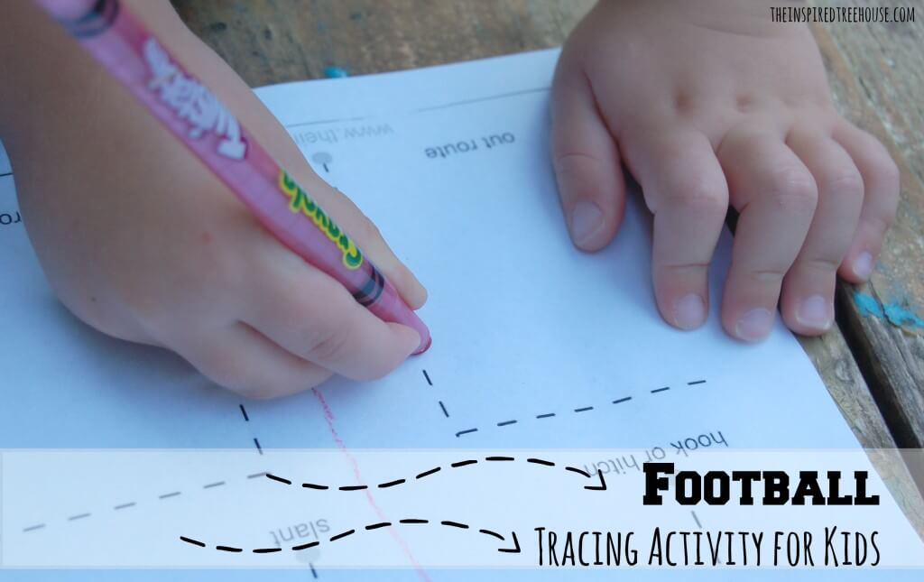 fine motor activities football tracing activity for kids2