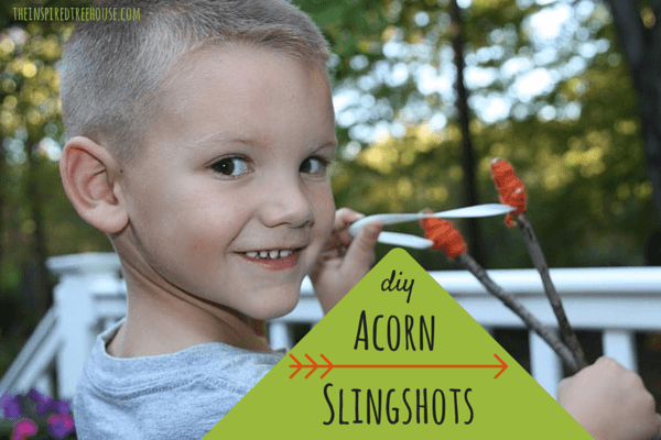 projects for kids acorn slingshots 2