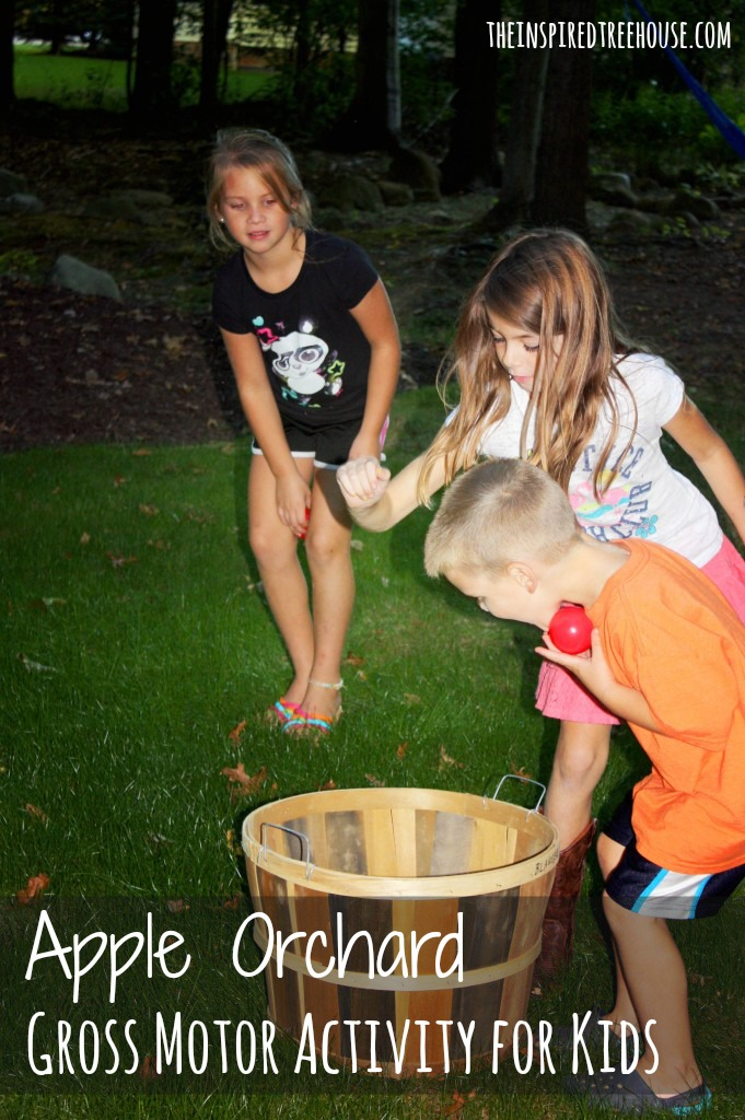sensory motor lesson plan apple orchard gross motor activity IMAGE