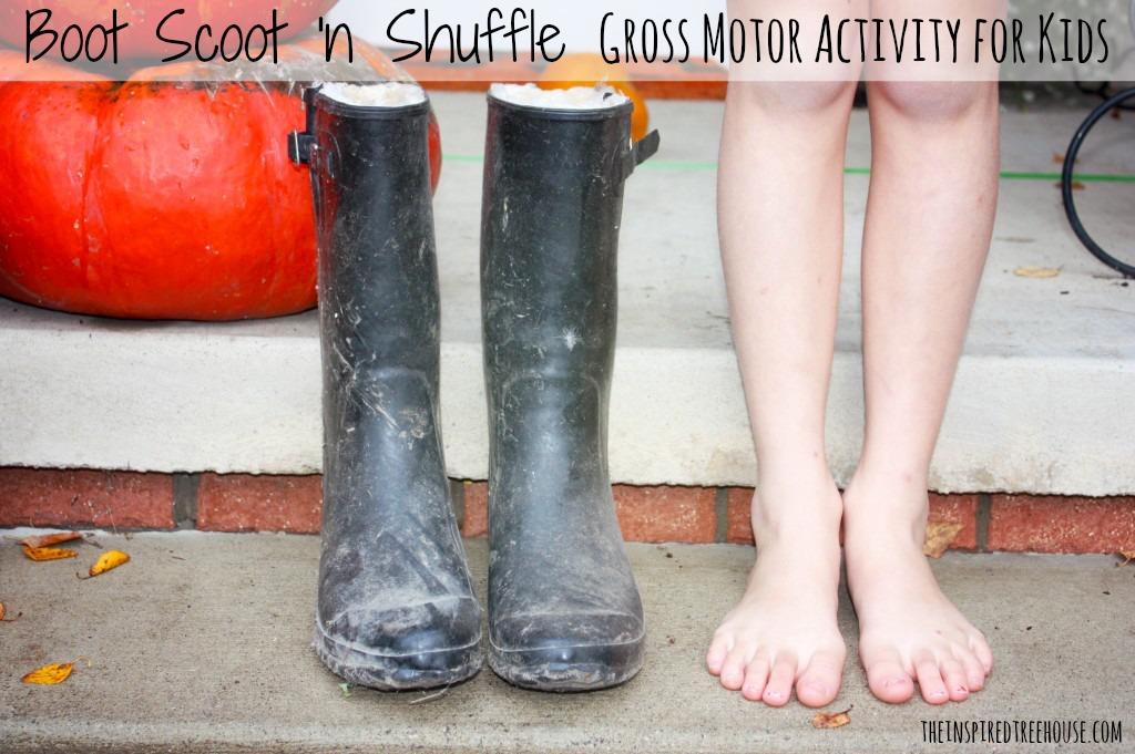 sensory motor lesson plan boot scoot n shuffle