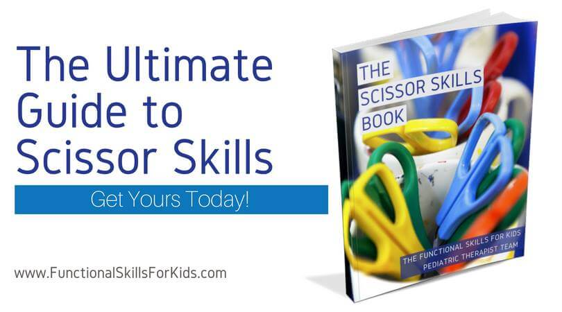 The Scissor Skills Book - Functional Skills for Kids