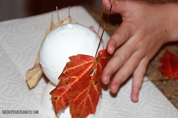 fall crafts for kids styrofoam owl