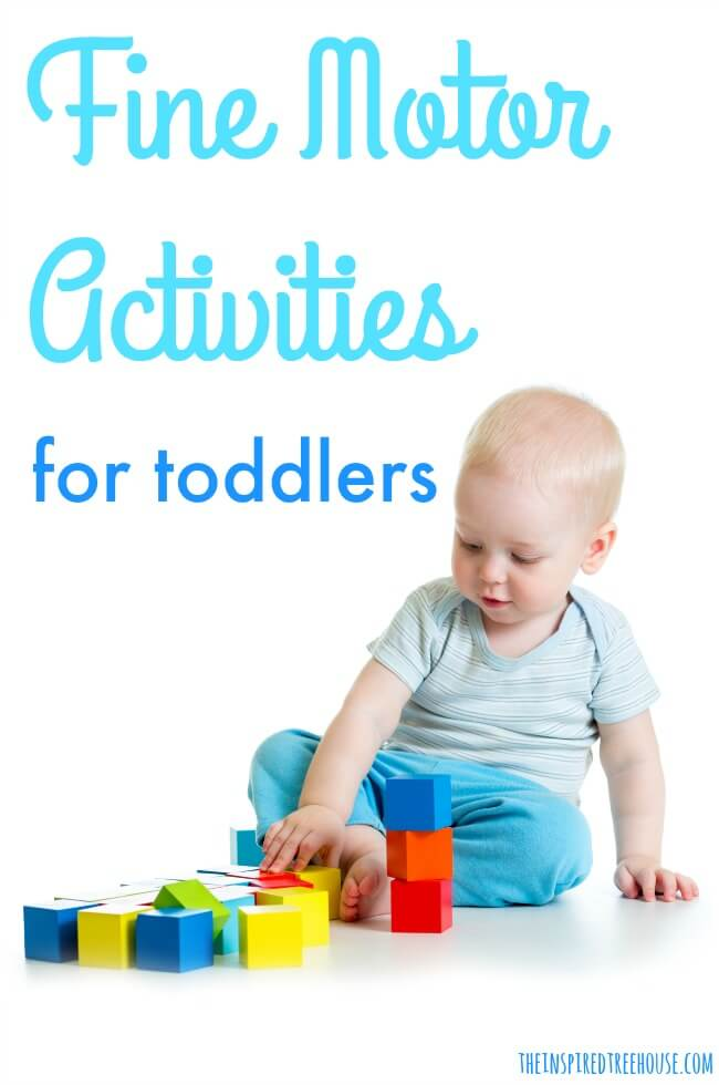 The Inspired Treehouse - These fine motor activities for toddlers are the perfect way to strengthen