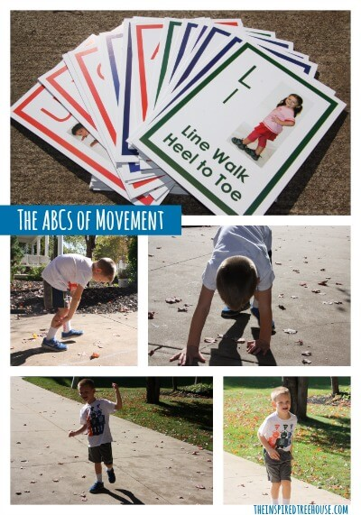 gross motor skills and literacy abcs of movement collage resize