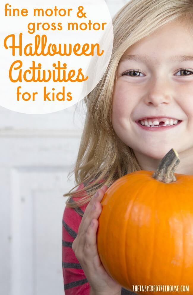 halloween activities for kids pin