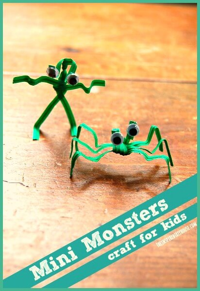 mini monster craft for kids title image NEW 2