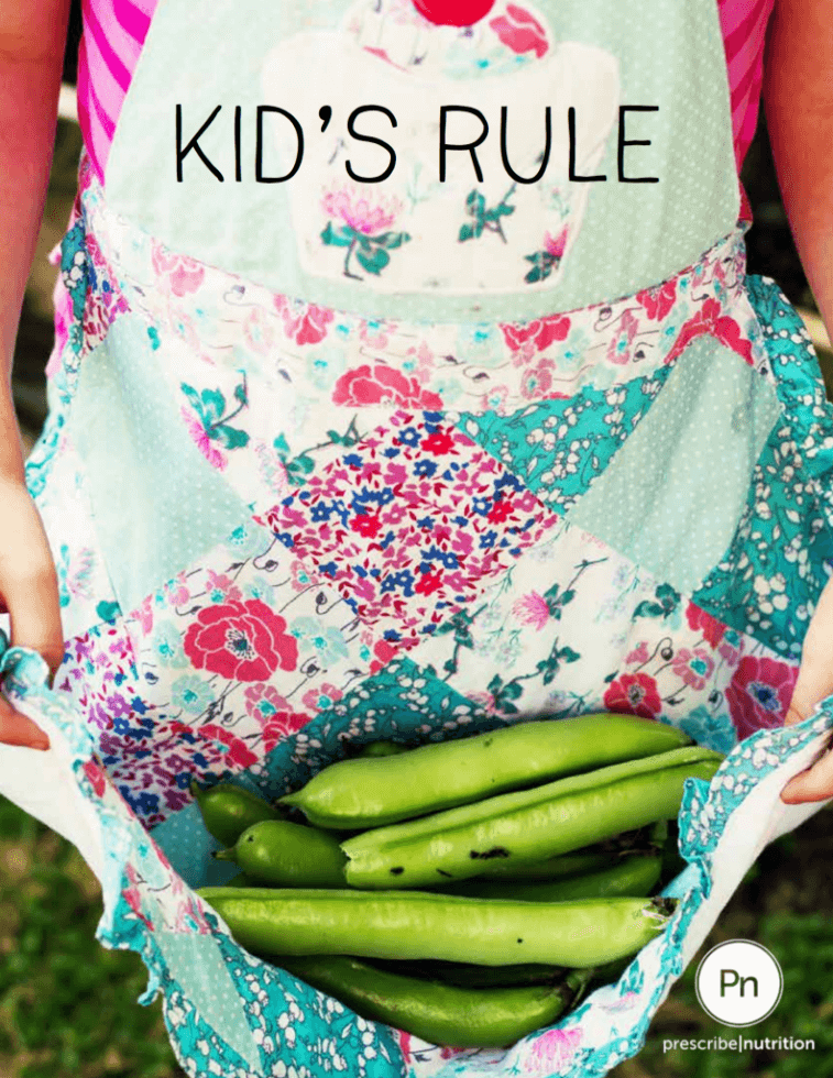 The Inspired Treehouse - Learn more about creating healthy meals for your family with the Kids Rule ebook from Prescribe Nutrition!